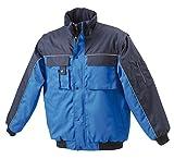 JN810 James & Nicholson Workwear Jacket Robuste, wattierte Jacke mit abnehmbaren Ärmeln schwarz - 6