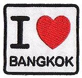 Patch wärmeklebendes flicken I love Bangkok