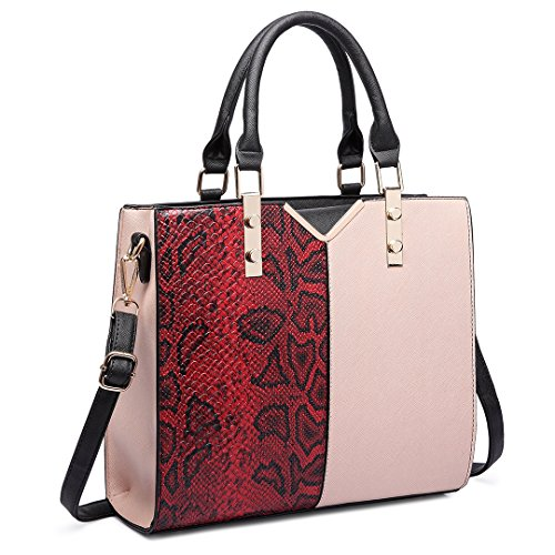 Miss Lulu , Cabas pour femme 6613 Red