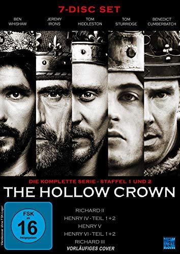 The Hollow Crown - Gesamtedition Staffel 1+2 [7 DVDs]