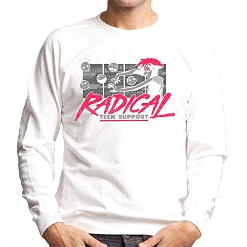 Cowboy Bepop Edward Radical Tech Support Men's Sweatshirt Mens Tech Support