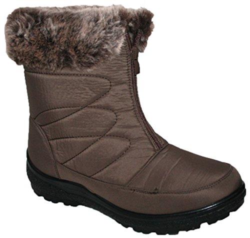 211d635201d03 cushion walk Women Snow Boots Ladies Warm Snug Fashion Comfort Snow Ice.