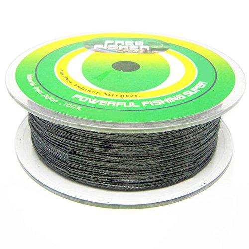 Lshel 4 fili filo da pesca trecciato, spectra extreme braid, lenza da pesca intrecciata colore verde militare,300/500m