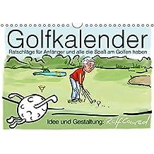 Golfkalender für Anfänger und alle die Spaß am Golfen haben (Wandkalender 2018 DIN A4 quer): Karikaturen zum Thema Golf (Monatskalender, 14 Seiten ) (CALVENDO Sport)