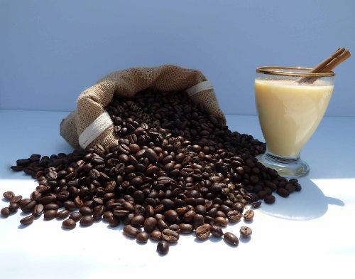 4x 100g chicchi di caffè aromatizzato, normale, arrosto Decafeinated caffè o a (Fragola Caffè Aromatizzato)