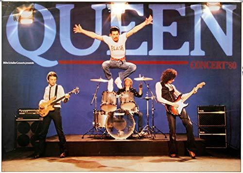Queen - The Game 1980 - Poster Plakat Konzertposter -
