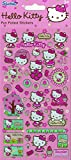 Official Hello Kitty 'Pink Flowers' Large Foil Sticker Pack (110 x 245mm)