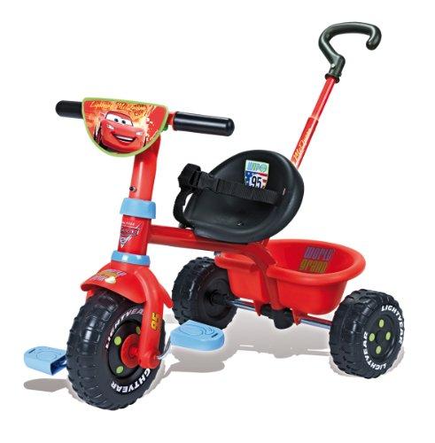 Imagen 4 de Smoby - Triciclo con mango con diseño de Cars 2 (444156)