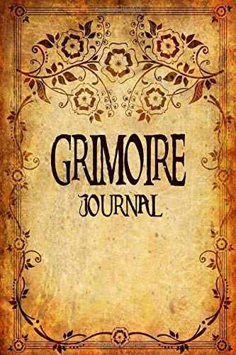 Grimoire Journal - Blank Book Of Shadows: Antique Look Spell Book