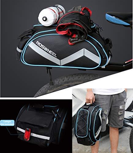 Roswheel multifunktions Gepäckträgertasche - 6