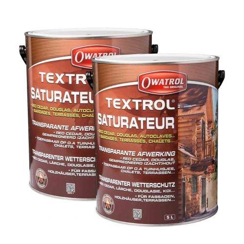 Preisvergleich Produktbild 2 x Owatrol Textrol eiche rustikal 5l