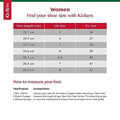 Kickers Women's Kick Hi' Ankle Boots, Black (Black Patent), 8 UK 6