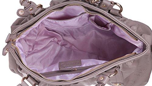 0562e449cdd6b LIU-JO LINEA KATE borsa a spalla L AXX004 tortora - Donna. Visualizza le  immagini