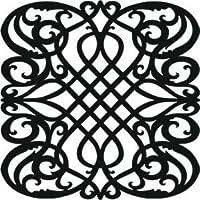 Creative Expressions - Maschera per stencil decorativa, colore beige