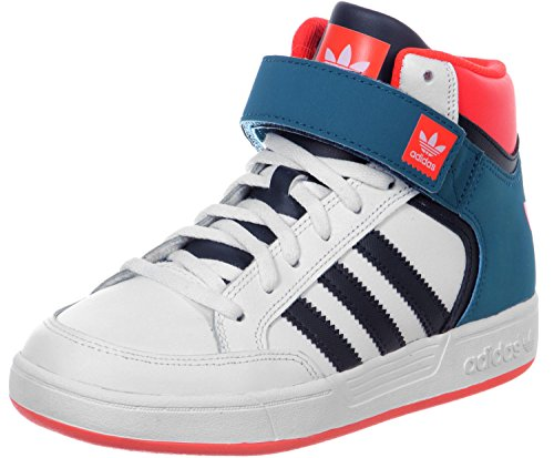 Adidas Varial Mid J W chaussures blanc turquoise néon