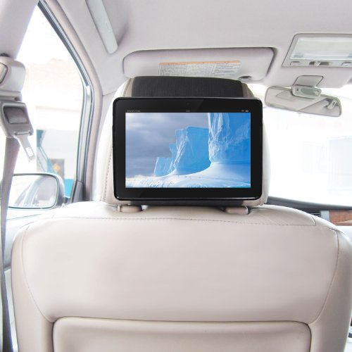 """Kfz Halterung Kindle Fire Tablet 2015 Schnellverschluss Auto Kopfstützenhalterung - Schwarz von TFY (Fire 7"""" (2015))"""