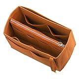 Filz-Tote-Organisator (Middle Zipper Bag), Beutel im Beutel, Geldbeutel-Einsatz, kosmetische Verfassungs-Windel-Handtasche