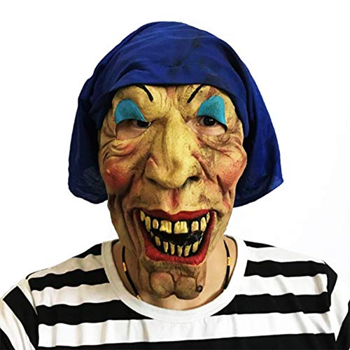 Bsjz Halloween Maske Horror Scary Bar Dance Kostüm ()
