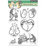 Penny Black Critters in Love Decorative Stamp