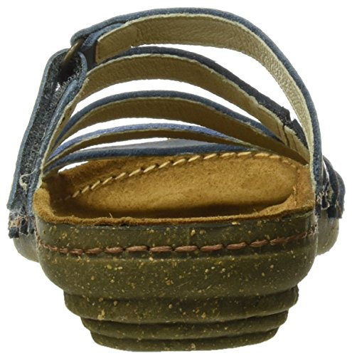 Inyectados Y Vulcanizadaos S.A Damen N327 Soft Grain Mixed Torcal Open Toe Sandalen Blau (Vaquero Mixed)