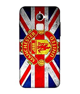 chnno Manchester 3D Printed Back cover for Coolpad Note 3 Lite -Multicolor