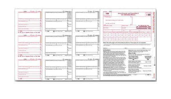 EGP IRS Approved - 1098 Laser Set Mortgage Interest