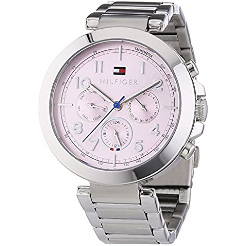 Tommy Hilfiger Watches CARY - Reloj Analógico de Cuarzo para Mujer, correa de Acero inoxidable color