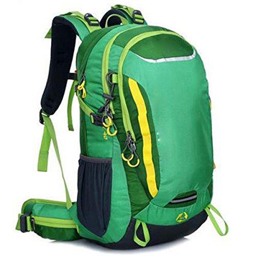 Outdoor Grande Capacità Di Alpinismo Di Sport Borsa Da Viaggio Impermeabile Multifunzionale,Green Green