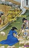histoire de la france rurale de 1340 ? 1789 2