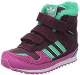 Adidas - ZX Winter CF I - M17951 - Farbe: Dunkelrot-Grün-Rosa - Größe: 25.0