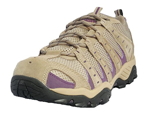 Northwest Territory Mujer Beige Y Morado Trekking Zapatos EU 36