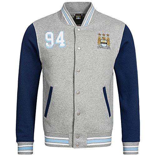 BNWT Manchester City FC Fleece Bomber Jacket Size M (City Auswärts Trikot)