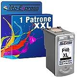 PlatinumSerie® 1x Druckerpatrone für Canon PG-40XL Black Pixma IP1600 IP2200 IP2500 IP2600 MP140