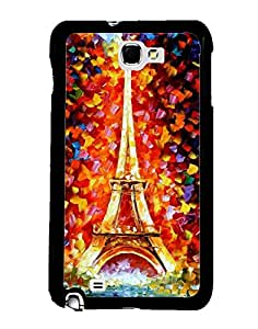 Aart Designer Luxurious Back Covers for Samsung Galaxy Note 2 + 3D F2 Screen Magnifier + 3D Video Screen Amplifier Eyes Protection Enlarged Expander by Aart Store.