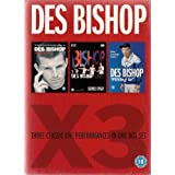 Des Bishop X3: Three Classic Live Performances: Live in Vicar Street/Des Bishop Live/Fitting In