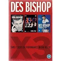 Des Bishop X3: Three Classic Live Performances: Live in Vicar Street/Des Bishop Live/Fitting In