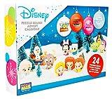 Sambro DIS-6975 - Calendario de Adviento con Puzzle y Goma de borrar, Figuras de Disney Frozen, Princesa, Toy Story y y Muchos más, para niños a Partir de 3 años, Multicolor