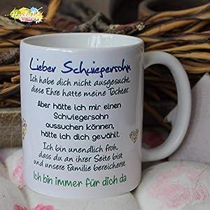 Kaffeebecher ~ Tasse -Lieber Schwiegersohn -ich~ Weihnachten Geschenk