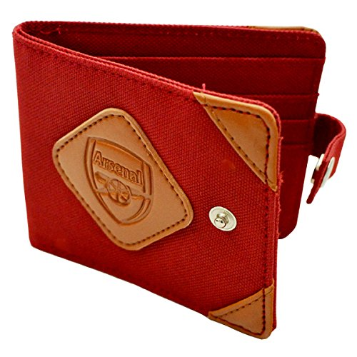 Arsenal FC Portefeuille officiel Football Adventurer Argent
