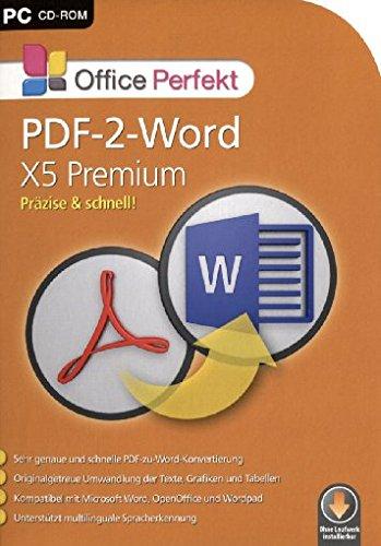 Office Perfekt PDF-2-Word X5 Pemium