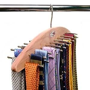 Caraselle - Cintre pour cravates en bois de cèdre Woodlore pour 42 cravates: Amazon.fr: Cuisine ...