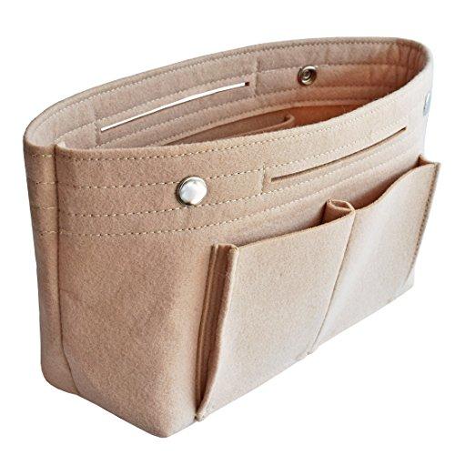 HyFanStr Taschenorganizer Handtasche Einlage Beutel Reise Organizer Taschen Kosmetik Veranstalter Tasche S (Tasche Tote Kosmetik)