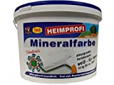 Tiger Heimprofi-Mineralfarbe Silikatbasis innen Weiß Matt 14 Kg