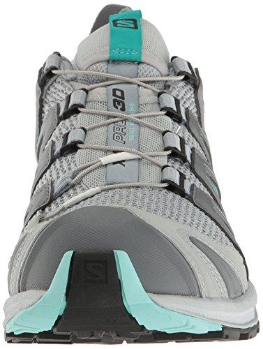 Salomon Xa Pro 3d W Damen Traillaufschuhe Mehrfarbig (Quarry/pearl Blue/aruba Blue)