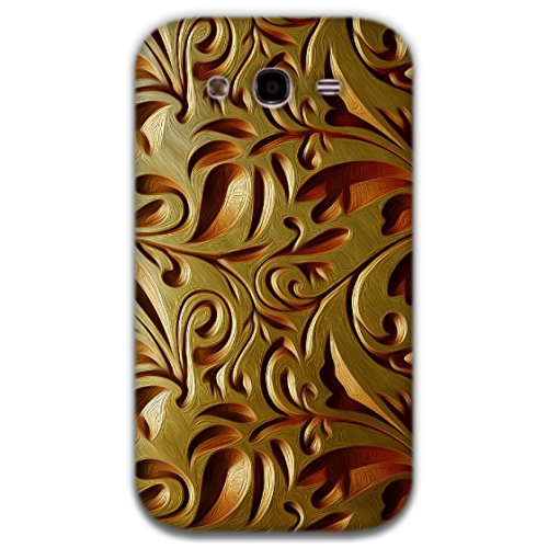 The Racoon Lean printed designer hard back mobile phone case cover for Samsung Galaxy Grand Neo. (Gold Weave)  available at amazon for Rs.99