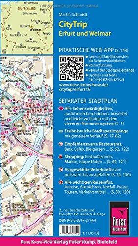 Reise Know-How CityTrip Erfurt und Weimar: Reiseführer mit Faltplan und kostenloser Web-App - 2