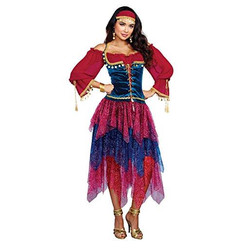 Kostüm Schmuck Zigeuner - Dreamgirl 10669Kostüm Zigeunerin, groß