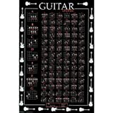 Póster de El Gráfico de Ultimate de acordes de guitarra música (24x 36)