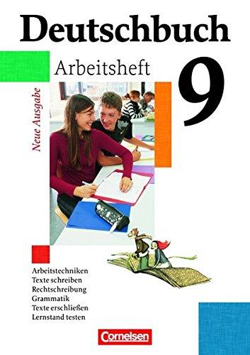 Deutschbuch Gymnasium - Allgemeine Ausgabe / 9. Schuljahr - Abschlussband 5-jährige Sekundarstufe I - Arbeitsheft mit Lö