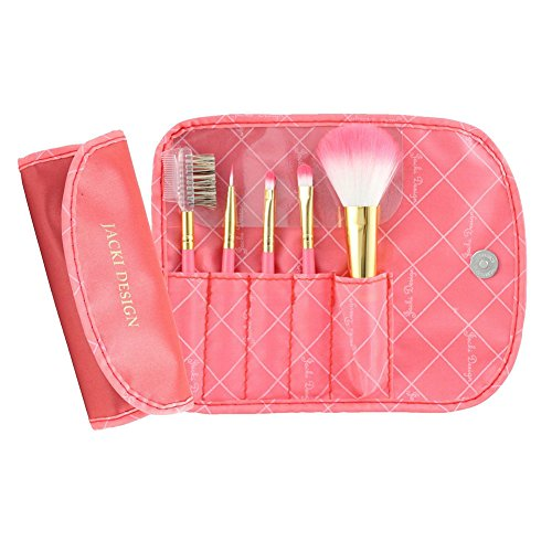 jacki-design-vintage-allure-5-pc-make-up-brush-set-w-bag-coral-fyd33103-by-jacki-design